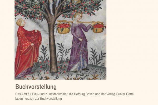 """OBSTGÄRTEN – Das Brixner """"Pomarium"""" im geschichtlichen und gartenbaulichen Kontext"""