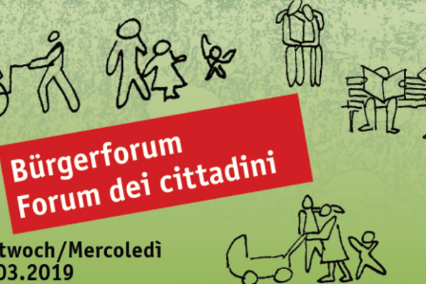 """Invito – Forum dei cittadini """"Il nostro salotto verde""""."""