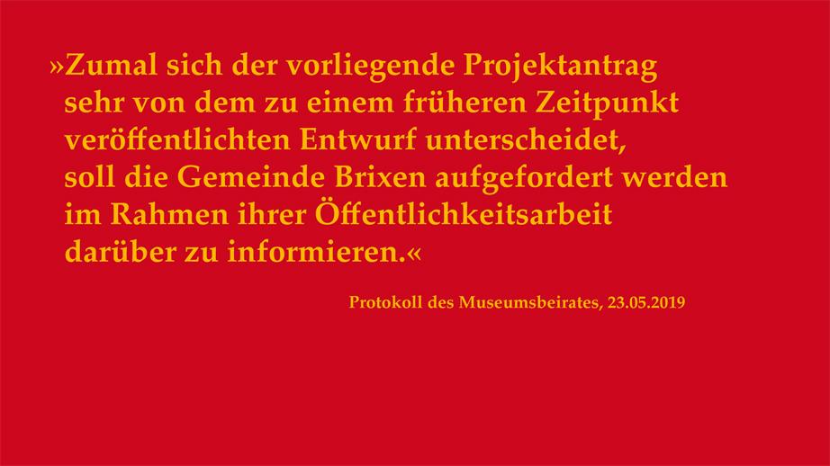 Offener Brief an BM Peter Brunner