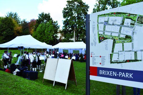 Brixen-Park in Regensburg
