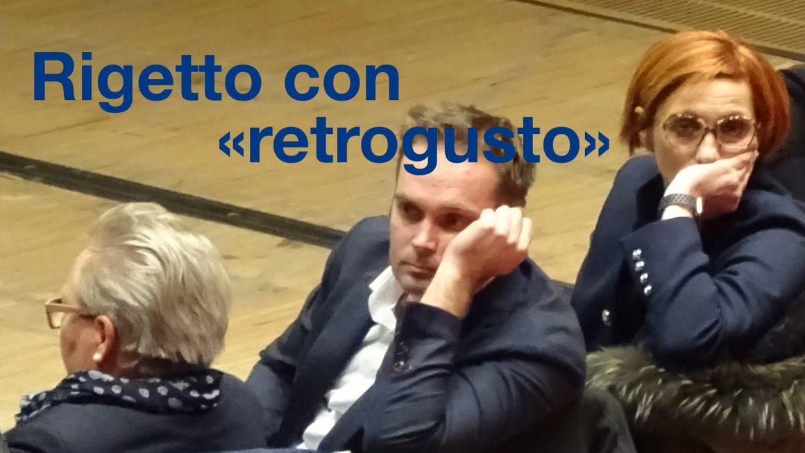 """Rigetto con """"retrogusto""""?"""